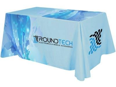 Custom Table Covers for Trade Shows
