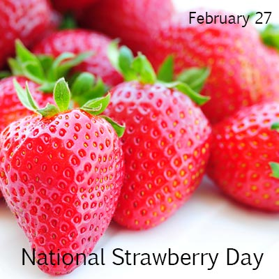 National-Strawberry-Day
