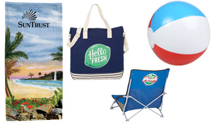 Custom Beach Promotional Products