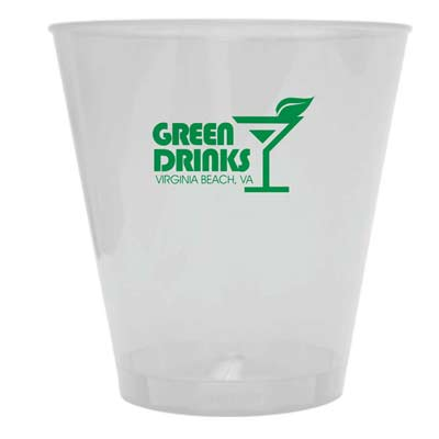 Custom Printed Plastic Shot Glasses