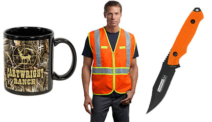 Custom Hunting Promotional Products