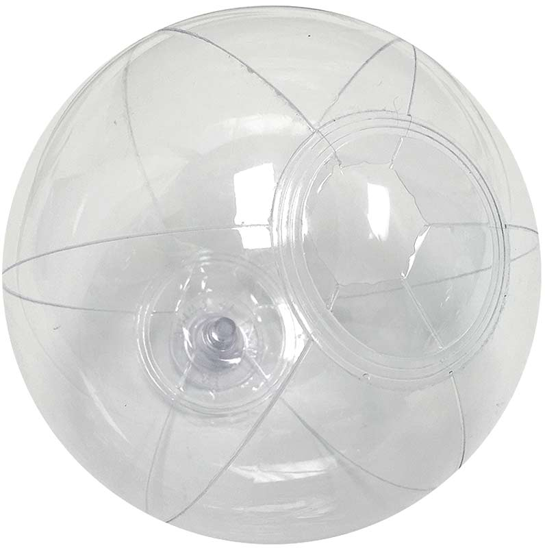 6 Inch Clear Beach Ball