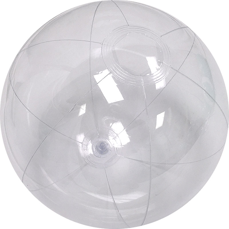 12 Inch Clear Beach Ball