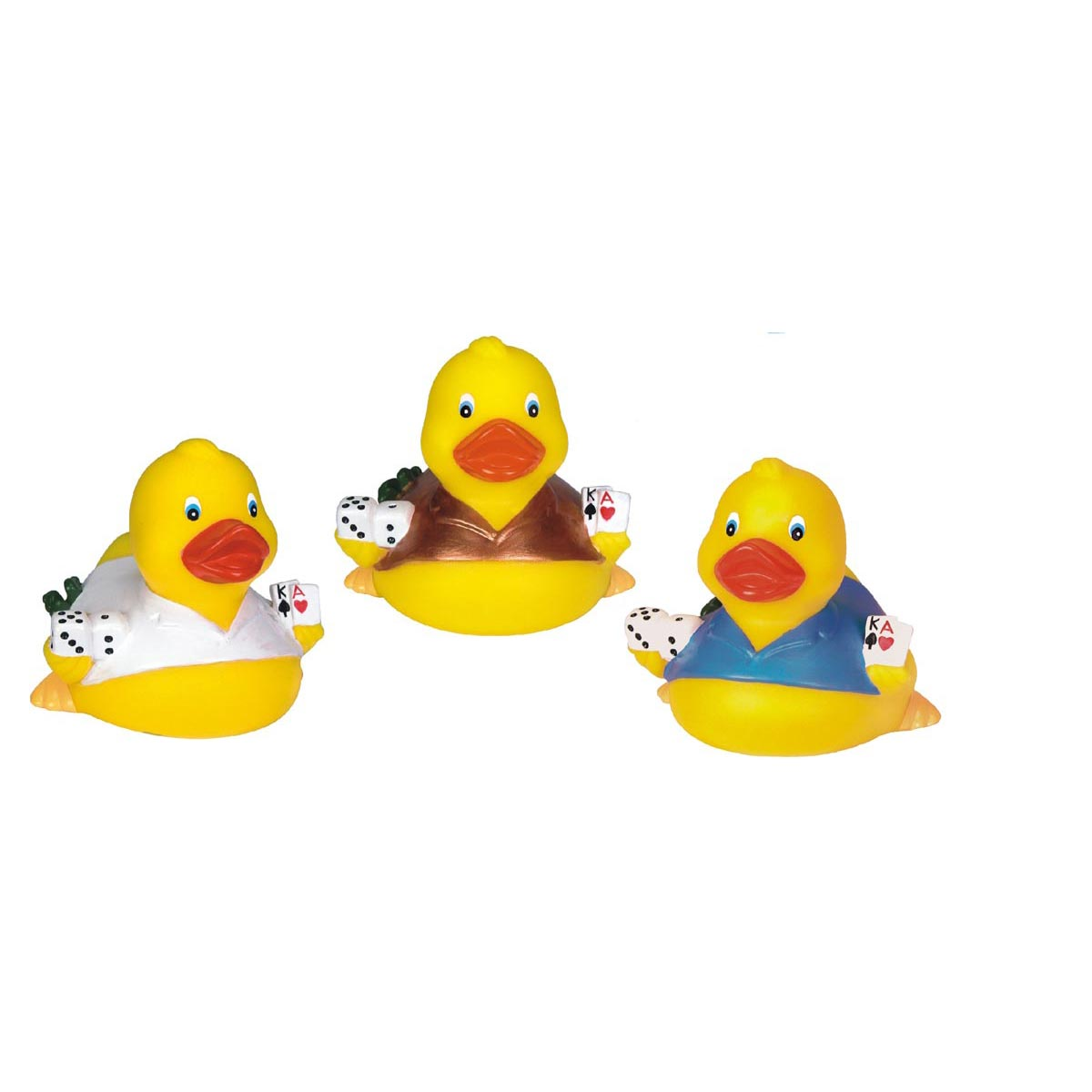 Rubber Casino Duck Toy