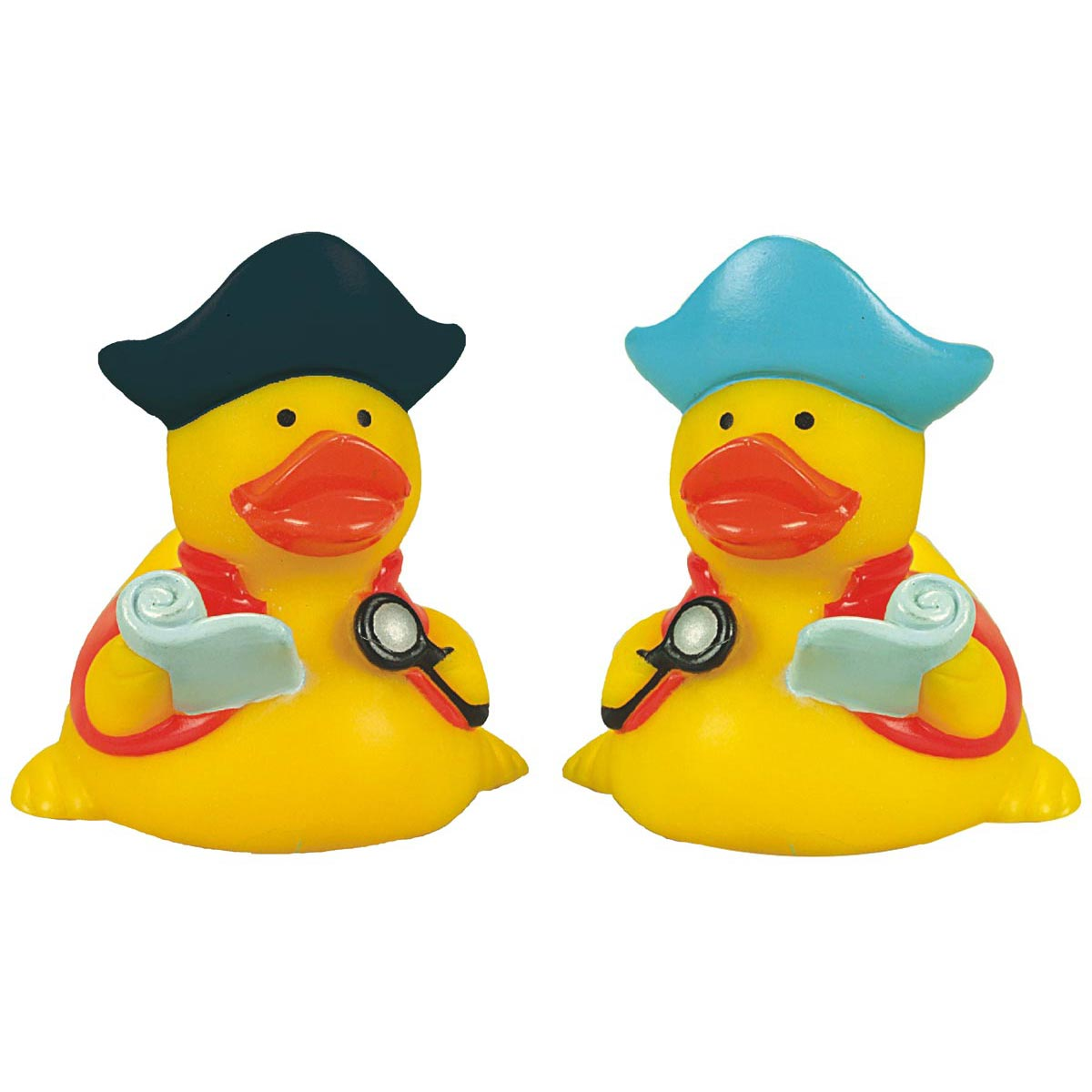 Rubber Pirate Navigator Duck Toy