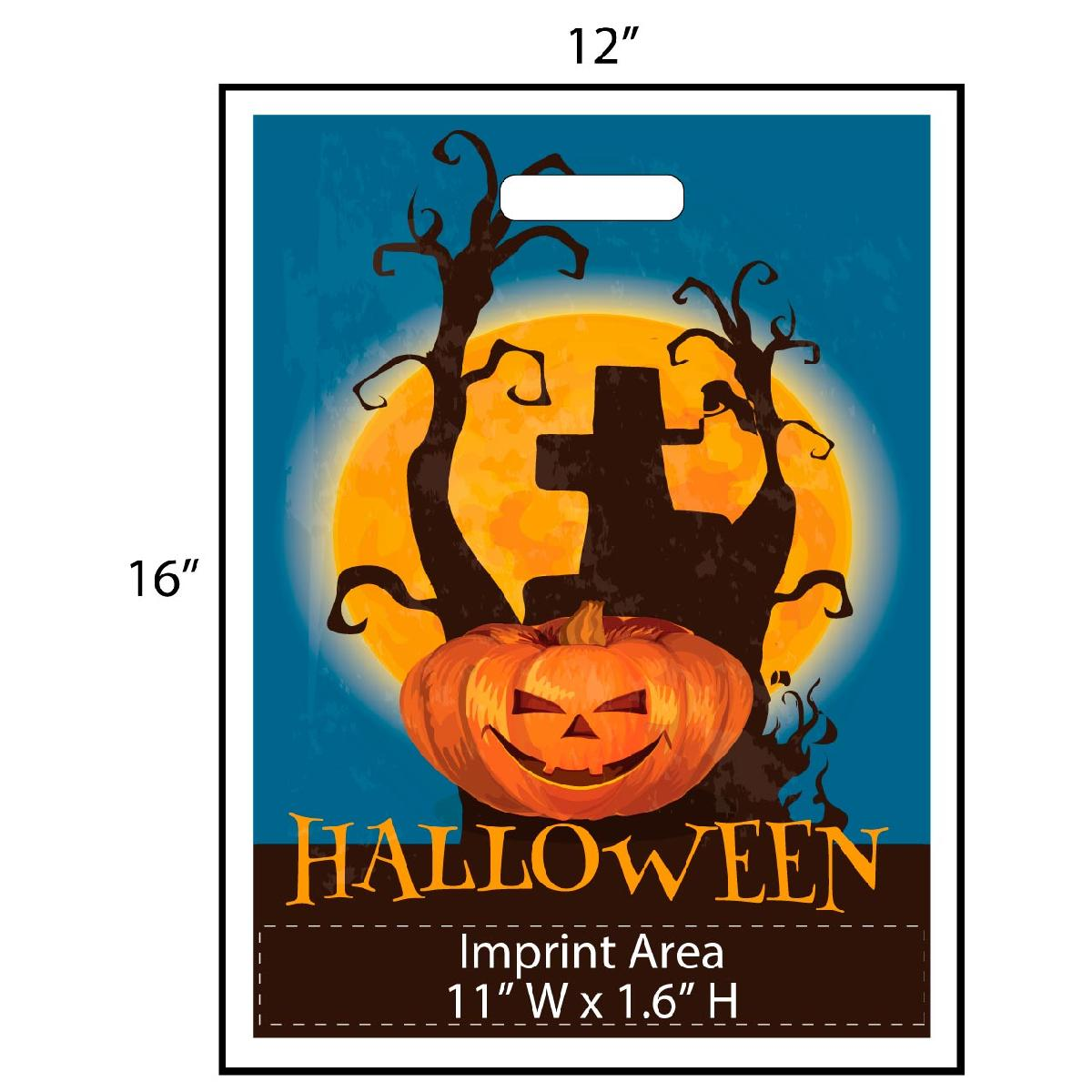 Halloween Jack-O-Lantern Trick or Treat Bag - Exclusive Design