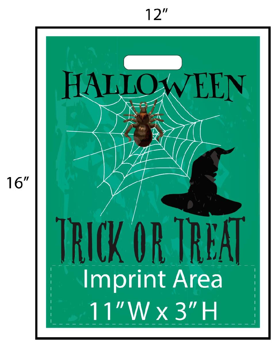 Spider Web Trick or Treat Bag - Exclusive Design