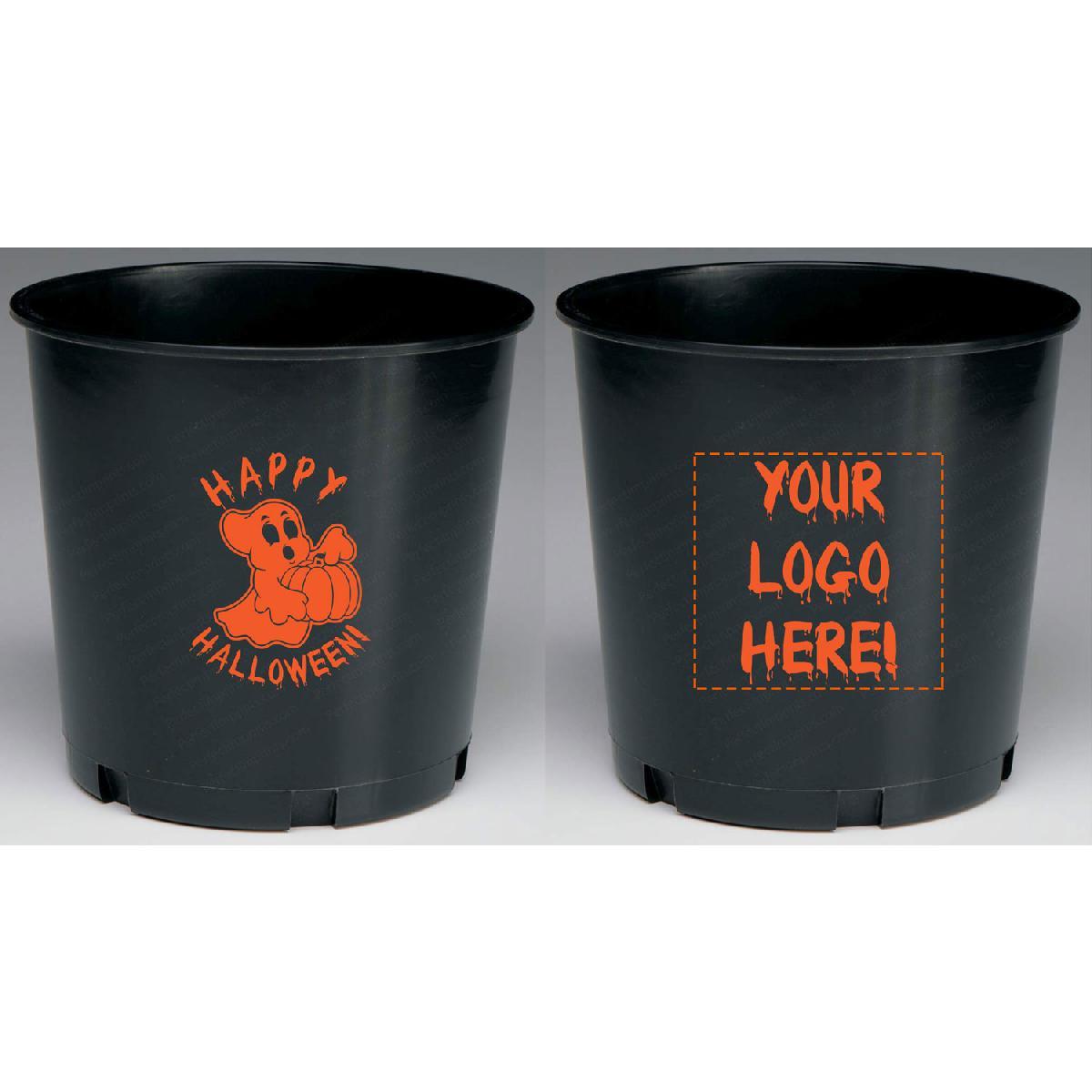 Halloween Jack-O-Lantern Candy Buckets