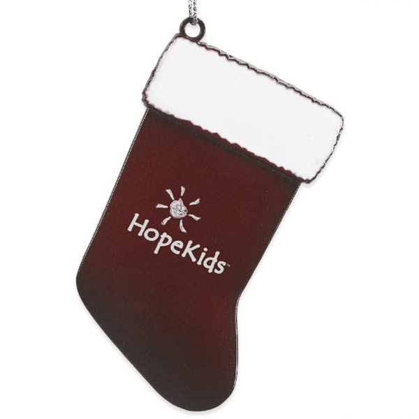 Stocking Pewter Ornament