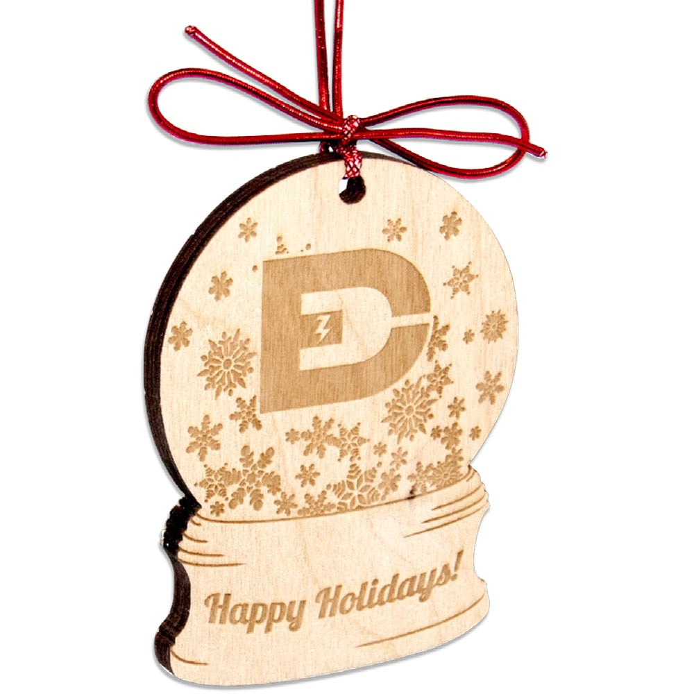 Custom Shape Laser Etched Birch Wood Ornaments - Up to 6 Sq Inches