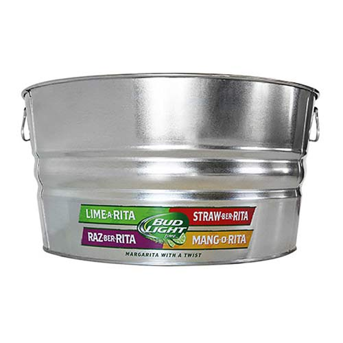 44 Quart Galvanized Metal Tub