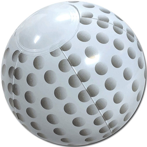 "14"" Golf Ball Beach Ball - Custom 14"" Golf Balls Beach Balls"