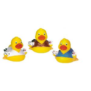 Rubber Casino Duck Toy - All of our rubber toys are phthalate free and balanced for floating.