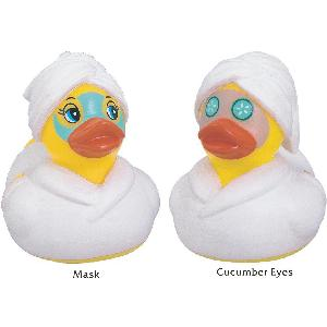Rubber Day Spa Duck Toy - Rubber Day Spa Duck weighted for floating. Phthalate Free Material