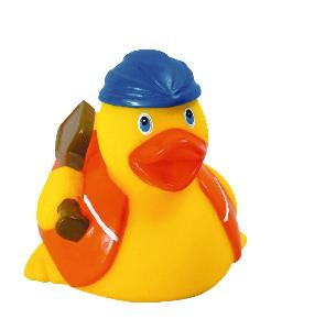 Rubber Aqua Duck Toy - All of our rubber toys are phthalate free and balanced for floating.