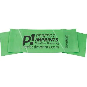 "Dynaband Exercise Bands 6 Ft x 6"" Wide, Green, Medium Resistance"
