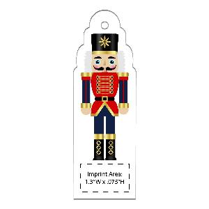 Acrylic Nutcracker Full-Color Ornaments - 50 Minimum - Nutcracker ornaments with your full-color printed logo.