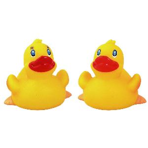 Classic Rubber Duck Toy - All of our rubber toys are phthalate free and balanced for floating.