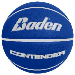 Laser Engraved - Royal Men's Official Size Contender Performance Composite Basketball - The Royal Blue Contender men's basketball is the official size and weight for the NBA. These are laser engraved with your logo for a permanent decoration (won't rub off like pad printing).