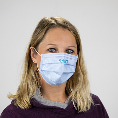 Custom Printed 3-Ply Disposable Face Masks - Disposable custom printed 3-Ply face masks - show off your logo. Great for employees and customers for your store or office.