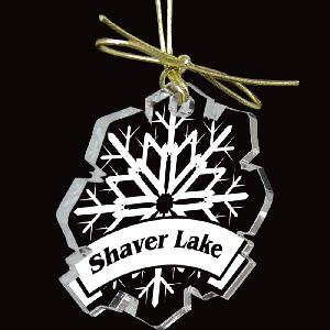 "Custom Shape Laser Etched 3/8 Inch Acrylic Ornaments - Up to 6 Sq Inches - Made in the USA! 3/8""inch thick acrylic Christmas ornaments cut into the custom shape of your choice and laser etched with your customized design."