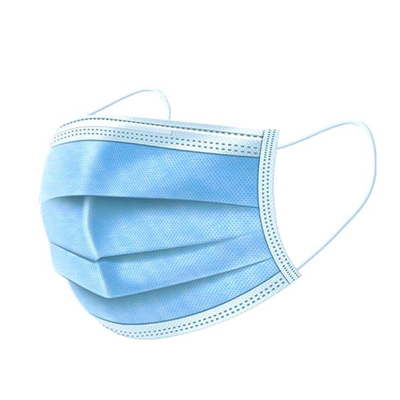FDA-Certified Surgical Masks - FDA-certified blue, 3-ply surgical masks. 2000 minimum order. Approximately 4-week production time.