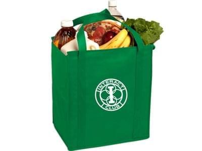 Custom Reusable Non-Woven Polypropylene Grocery Bags