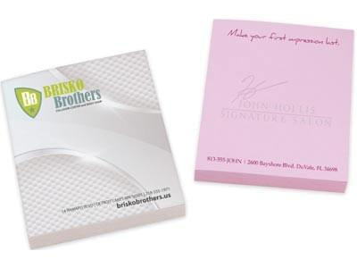 Custom Note Pads and Sticky Notes