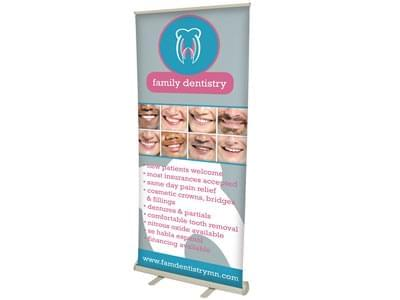 Custom Full-Color Retractable Banners
