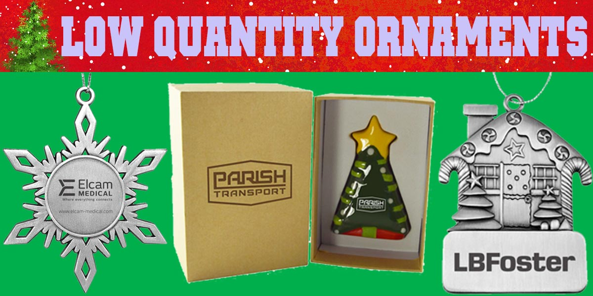 Low Quantity Custom Christmas Ornaments