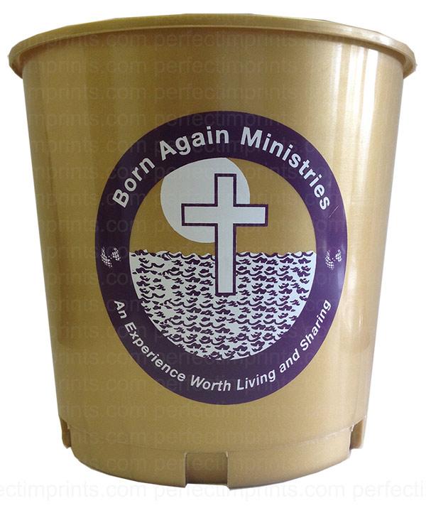 Church Offering Buckets