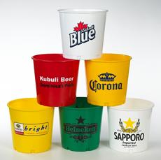 Plastic Beer Buckets