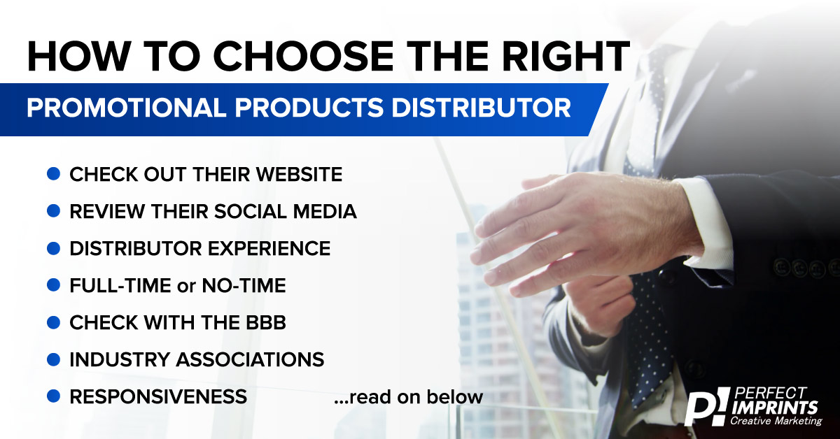 How to Choose the Right Promotional Products Distributor