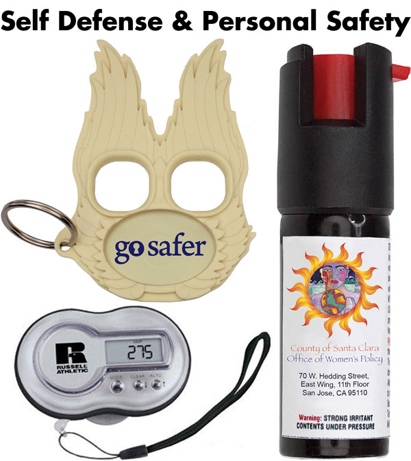 Personal Safety & Self Defense Promotional Items