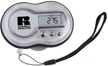 Talking Pedometer and Personal Safety Alarm