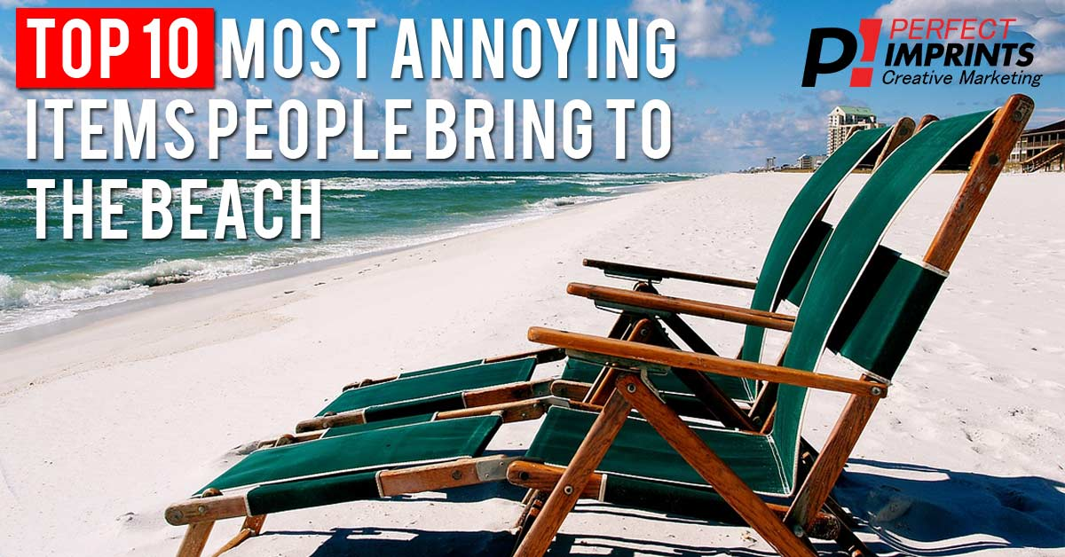 Top 10 Most Annoying Items People Bring to the Beach