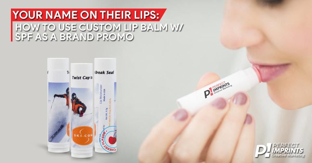 Custom Lip Balm