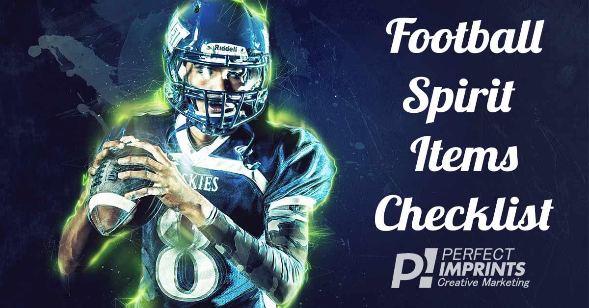 Football Spirit Items Checklist