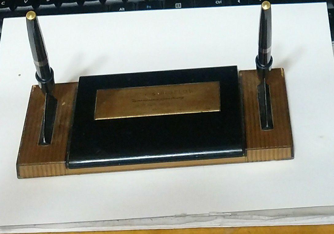 Desk Pen Holder from 1962