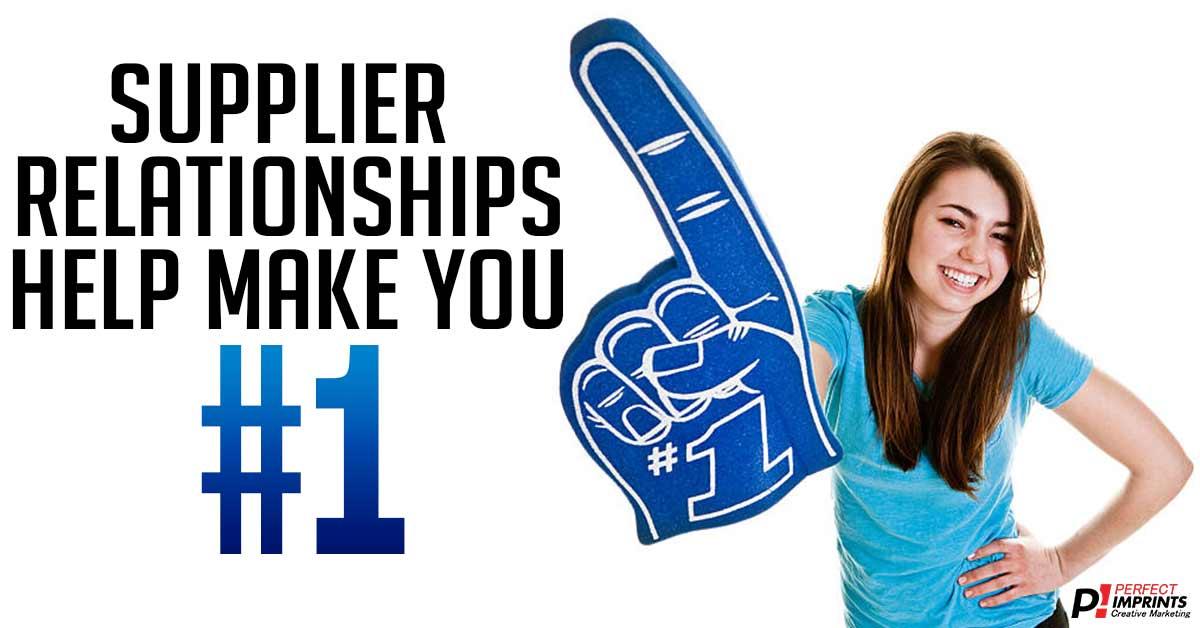 Supplier Relationships Help Make You #1