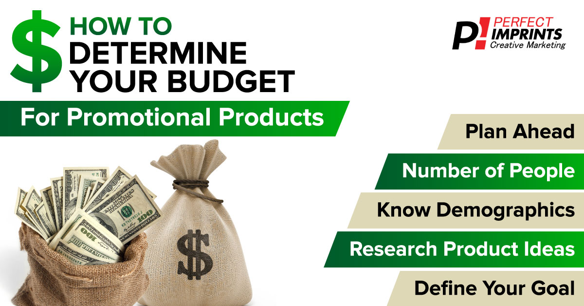 How To Determine Your Budget For Promotional Products