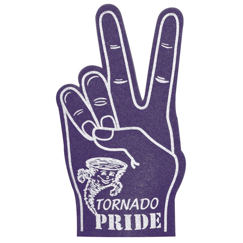 Peace/Victory Foam Hands