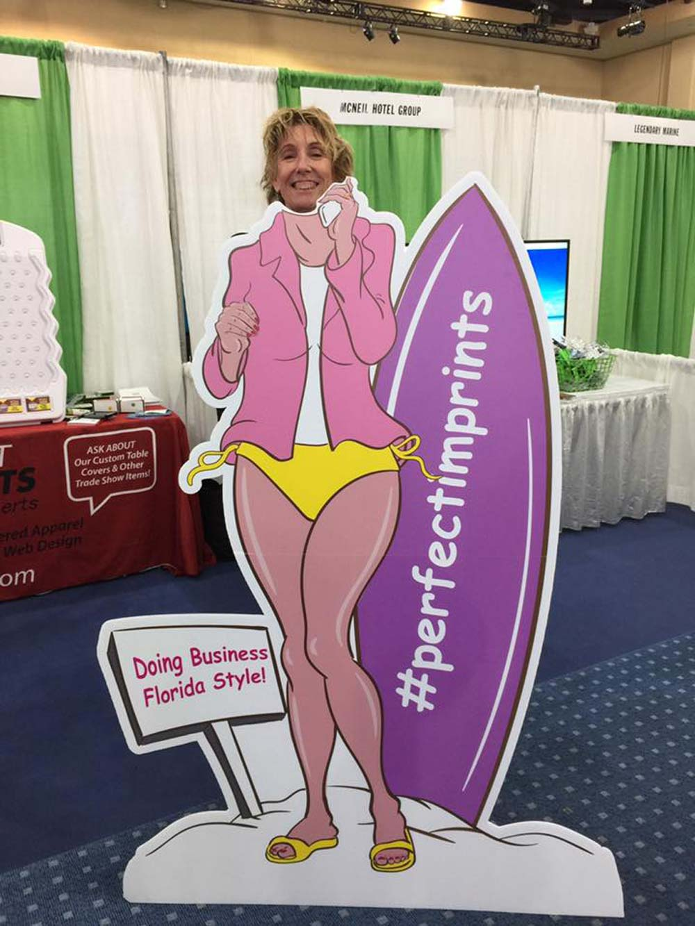 Trade Show Standee Cutout