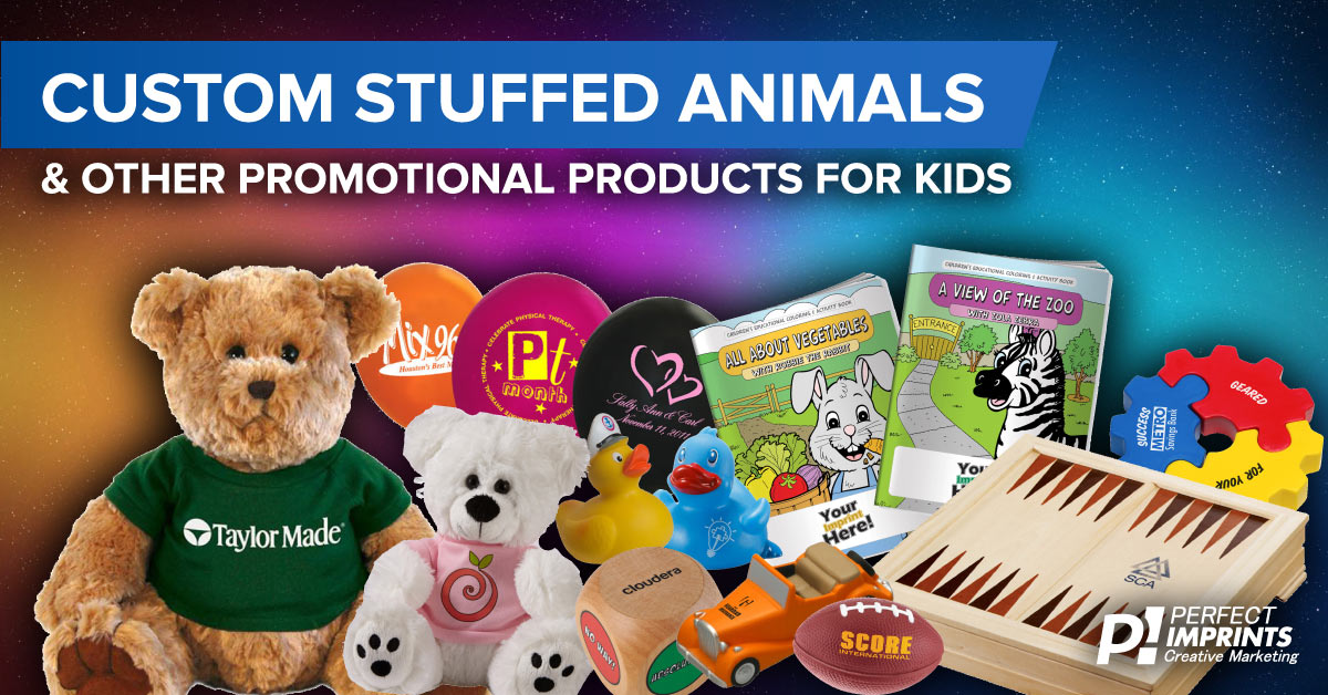 Custom Stuffed Animals and Promotional Products for Kids
