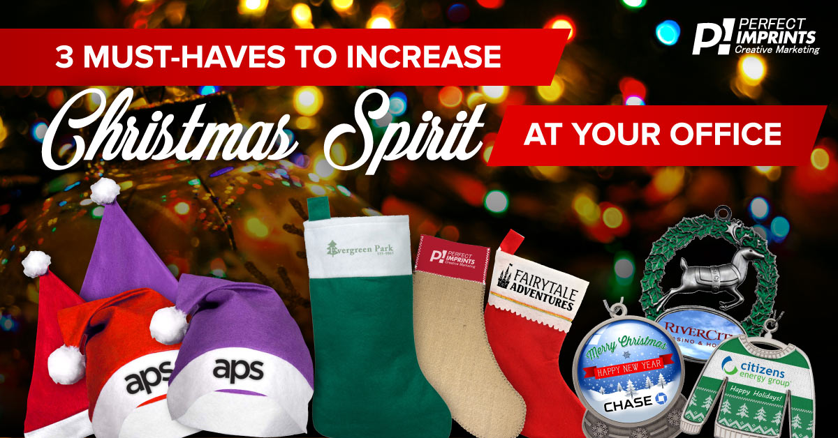 Increase Christmas Spirit at Your Office with these 3 items