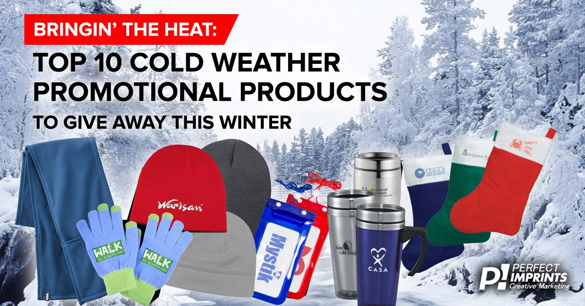 Top 10 Cold Weather Promotional Products