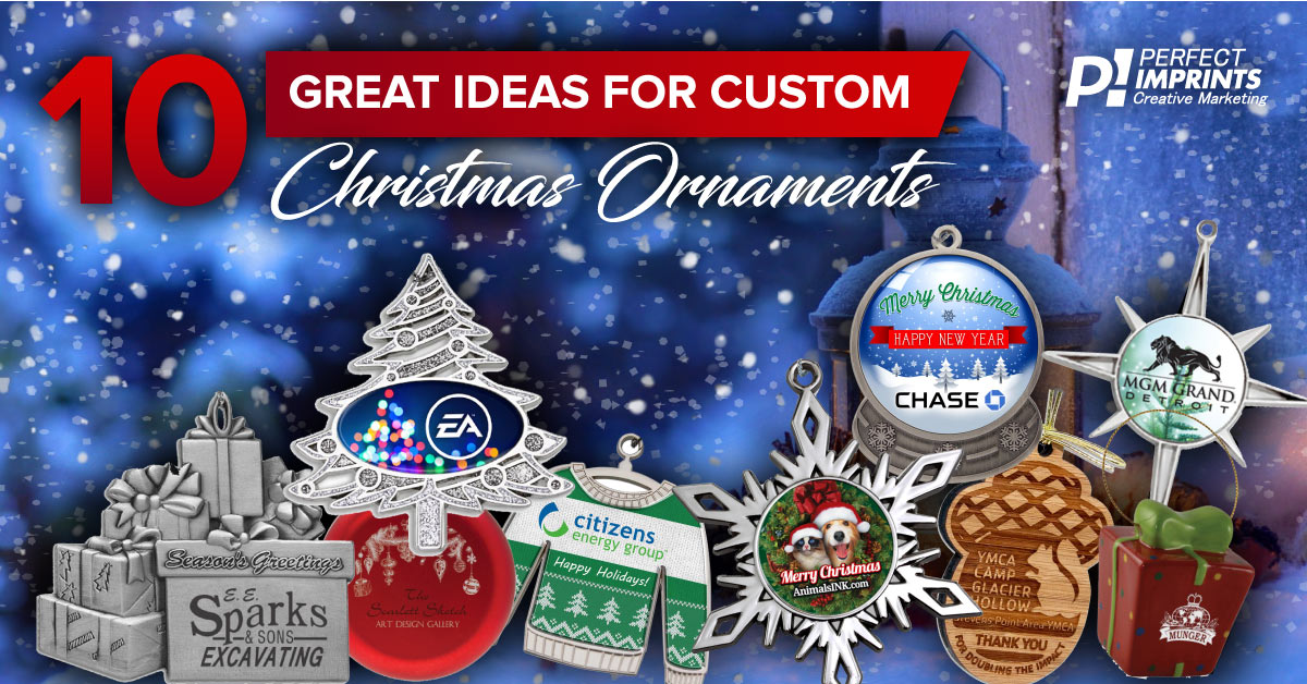 10 Great Ideas for Custom Christmas Ornaments