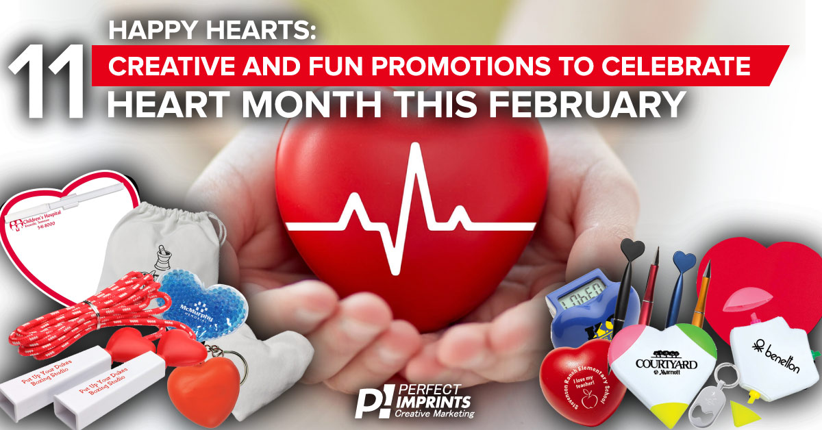 Happy Hearts: 11 Creative and Fun Promotions to Celebrate Heart Month This February