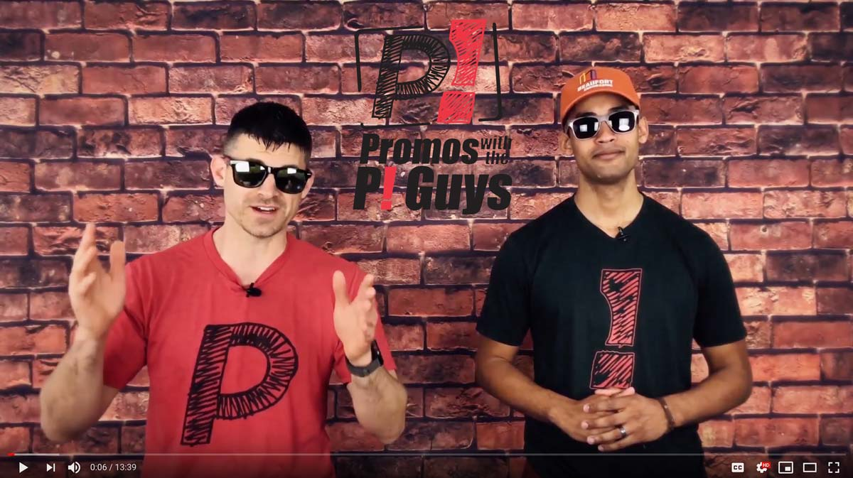 Promos with the P! Guys - Promotional Sunglasses