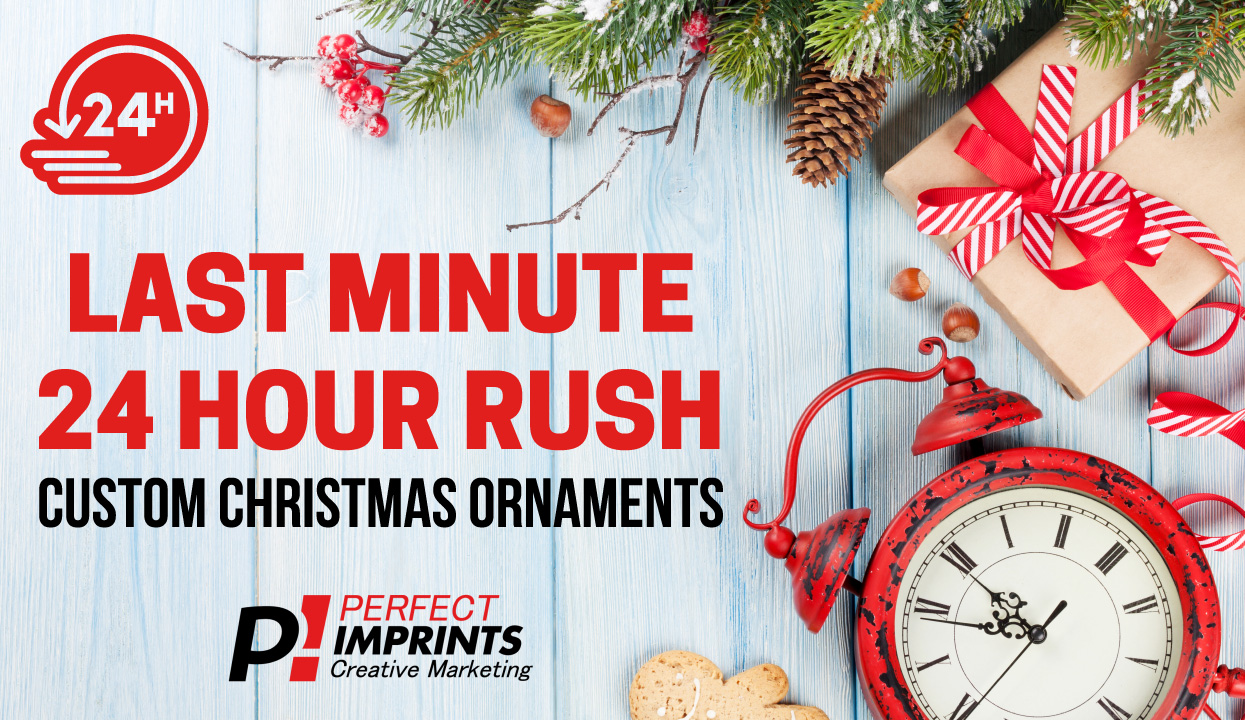 24 hour rush Custom Christmas Ornaments